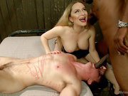 Brutal Femdom: The Ultimate Interracial Cuckold Humiliation