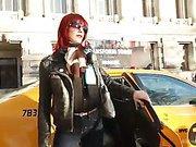 Maitresse Madeline visits noted Midtown Manhattan dungeon!!!