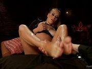 Luscious Fertility bitch goddess Foot Worship