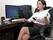 Trampling her worker