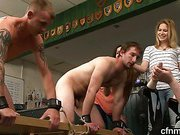 Ryan and Shamus are naked, bound and helpless
