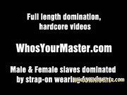 Femdom Wife Gives Rimjob