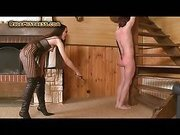 Spanking For Submissive Guy