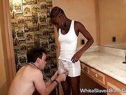 Black Femdoms using White Guy