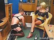 Mean Blonde Woman Worshipped