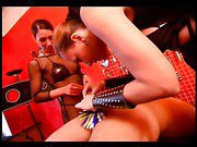 Two ladies in a hot BDSM action