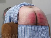 Sadistic behind the scenes intensive caning