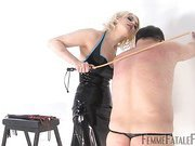 To be divine Mistress Heather's whipping boy