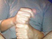 Closeup CFNM sensual handjob