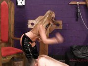 The dungeon for her sexual pleasure