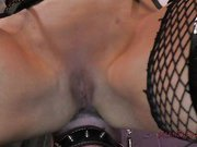 Brittany Andrews smothers his face