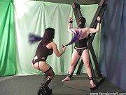 Double flogging a slave
