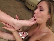 Lesbian Foot Worship - Ashlynn and Mistress Claire