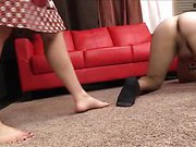 Brutal Ballbusting - Mistress Claire and Beau