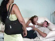 BF spanked for infidelity