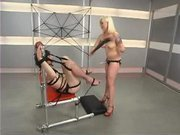 Lorelei lee's turn to flog, fuck, paddle and ball smack her