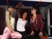 Naughty Babes Give A Hot Blowjob