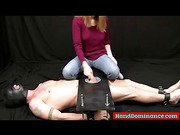 Gimp Gets Bound And Wanked