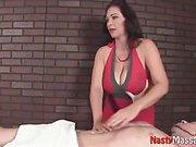 Busty Ana Gives A Hot Stroke