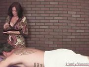 Big Boobs Monica Ends Her Massage