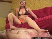 Adrianna punishes her perverted peeping neighbor