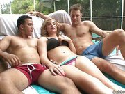 Pool party cuckold