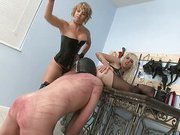 Double punishment with two great babes