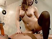 Mistress Chanel Preston trains her new slave