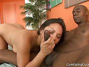 Adriana loves that black cock