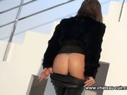 Asian domina loves leathering