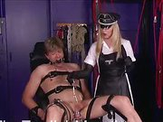 Evil Nurse tortures her patient