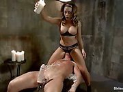 Femdom punishment with hot Chanel Preston!