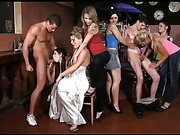 CFNM sex party with great babes