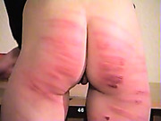 Classroom caning for poor young schoolgirl