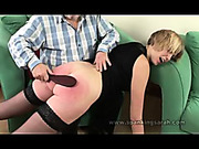 OTK punishment of lustful bitch