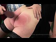 OTK punishment of lustful bitch
