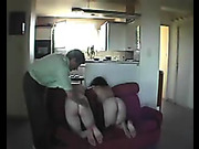 Spanking and humiliation with two hotties