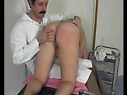 Spanking and humiliation in a doctor's office