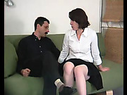 Severe OTK spanking for bigass girl