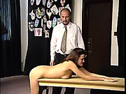 Teen babes got severe spanking punishment