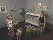 Two young cuties got domestic caning discipline