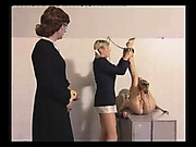 Detention room punishment for sweet young girls