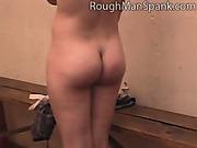 Kinky brunet maiden got hardcore flogging