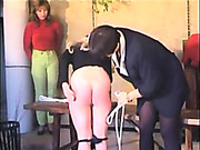 Cute girls were punished by strict mistress