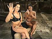 Bondage and pain make slavegirl horny