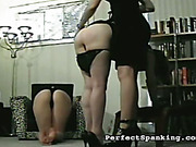 Spanking from punishment officer