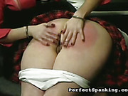 Nude ass exposed ready for whipping