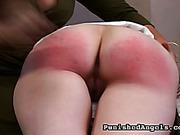 Lesbian bitches enjoy spanking catarsis