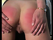 Kinky blonde wants some caning