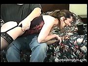 Kinky  nude nurse got spanking